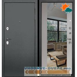 Дверь Йошкар Ола Т30 Зеркало Белая лиственница